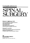 Complications in Spinal Surgery Book