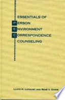 Essentials of Person-environment-correspondence Counseling Pdf/ePub eBook