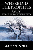 Where Did the Prophets Go  Book