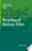 Recycling of Biomass Ashes