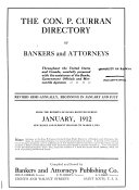 Pdf The Gast-Paul Directory of Bankers and Attorneys and Digests of the Laws