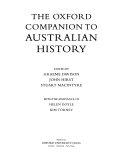 Pdf The Oxford Companion to Australian History