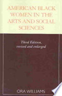 American Black Women In The Arts And Social Sciences