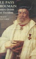 Le Pays roumain entre Orient et Occident : Les Principautés danubiennes au début du XIXe siècle ebook