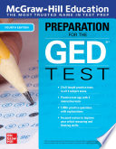 McGraw Hill Education Preparation for the GED Test  Fourth Edition