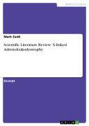 Pdf Scientific Literature Review: X-linked Adrenoleukodystrophy Telecharger