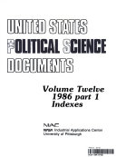 United States Political Science Documents