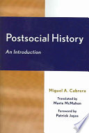 Postsocial History