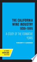 The California Wine Industry Book PDF