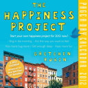 2012 CALENDARS   THE HAPPINESS PROJECT Book