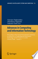 Advances in Computing and Information Technology Book