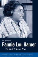 The Speeches of Fannie Lou Hamer [Pdf/ePub] eBook
