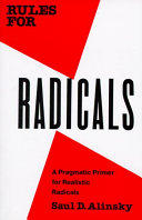 Cover of Rules for Radicals