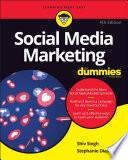 """Social Media Marketing For Dummies"" by Shiv Singh, Stephanie Diamond"