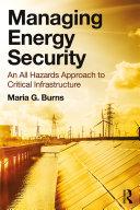 Managing Energy Security Pdf/ePub eBook