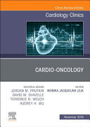Cardio Oncology  an Issue of Cardiology Clinics Book