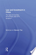 Law and Investment in China