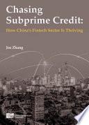 Chasing Subprime Credit Book PDF