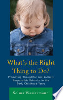 What   s the Right Thing to Do  Book