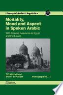 Modality Mood   Aspect Mon 11