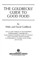 The Goldbeck s Guide to Good Food Book