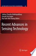Recent Advances In Sensing Technology Book PDF