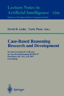 Case Based Reasoning Research and Development