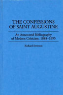The Confessions of Saint Augustine Book