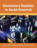 Elementary Statistics in Social Research  Books a la Carte