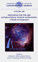 Preparing for the 2009 International Year of Astronomy