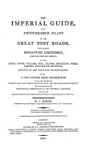 The imperial guide, with picturesque plans of the great post-roads