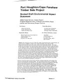 Tongass National Forest (N.F.), Port Houghton/ Cape Fanshaw Timber Sale Project