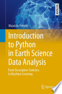 Introduction to Python in Earth Science Data Analysis Book