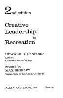 Creative Leadership in Recreation