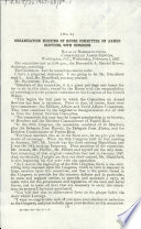 Organization Meeting of House Committee on Armed Services, 90th Congress