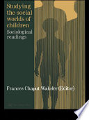 Studying The Social Worlds Of Children
