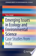Emerging Issues in Ecology and Environmental Science Book