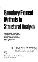Boundary Element Methods in Structural Analysis