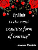 Pdf Gratitude is the Most Exquisite Form of Courtesy