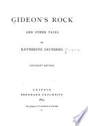 Gideon's Rock and Other Tales