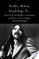 Beatles  Motown  Beach Boys  Etc   Classic Rock Discographies  Commentary  and Mono vs  Stereo Analysis