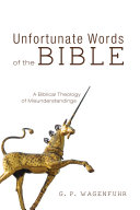 Unfortunate Words of the Bible Pdf/ePub eBook