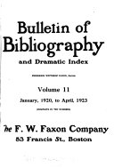 Bulletin of Bibliography   Magazine Notes