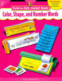 Build a Skill Instant Books  Color  Shape  and Number Words  eBook