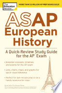 ASAP European History  A Quick Review Study Guide for the AP Exam Book PDF