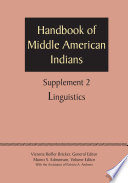 Supplement to the Handbook of Middle American Indians, Volume 2