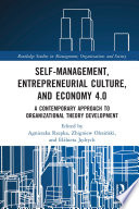 Self Management  Entrepreneurial Culture  and Economy 4 0 Book
