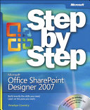 Microsoft Office Sharepoint Designer 2007 Step By Step Book PDF