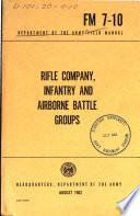 Rifle Company, Infantry and Airborne Battle Groups
