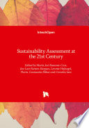 Sustainability Assessment At The 21st Century Book PDF